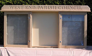Bespoke noticeboard