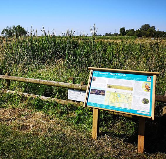 Countryside Interpretation Panel Frame