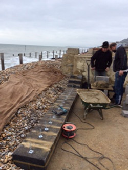 Sea Wall extension