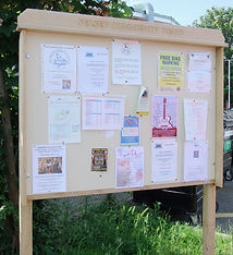Open noticeboard