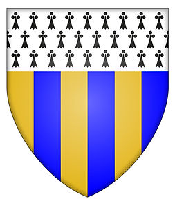 Edmondsham lan arms shield