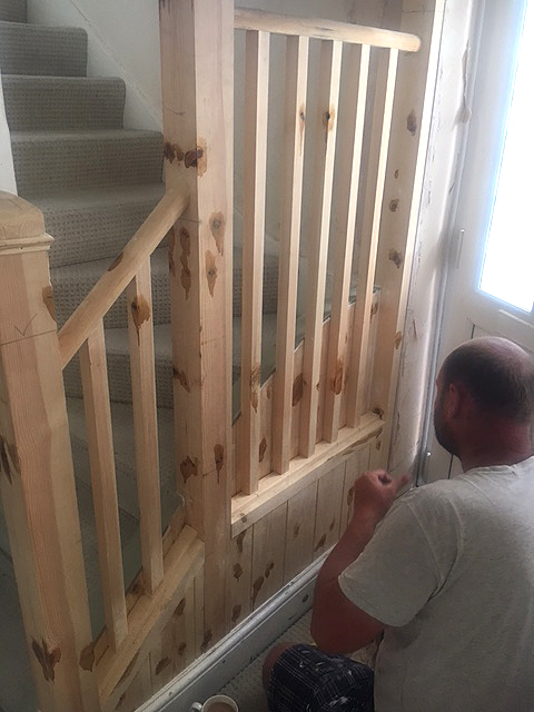 Stairwell Alteration