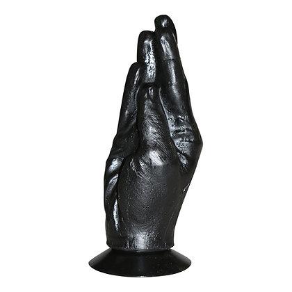 All Black - Schwarzer XXL Analplug zum Fisten