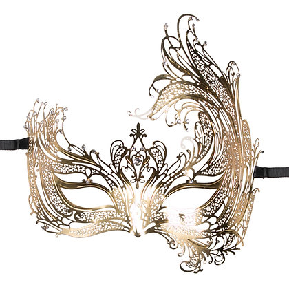 EasyToys – Goldfarbene venezianische Maske