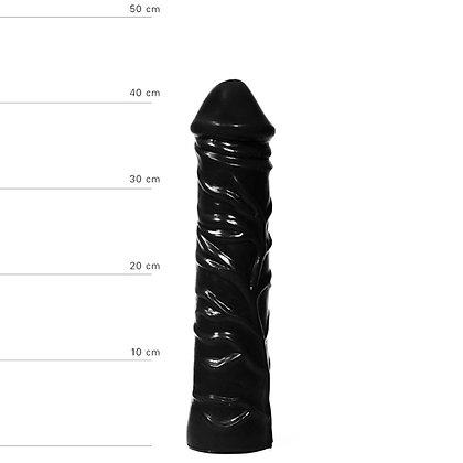 All Black - Realistischer XXL Dildo - 33 cm