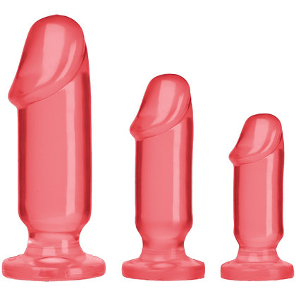 Crystal Jellies - Anal Startpaket - Pink