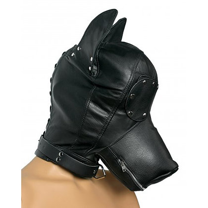 Strict Leather - Verspielte Hundekopfkappe