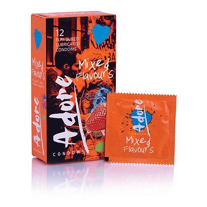 Pasante - Adore Flavors Kondome - 12 Stück