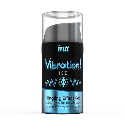 intt - Vibration! Ice Tingling Gel - 15 ml