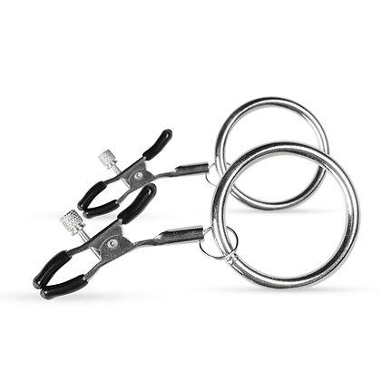 EasyToys - Nippelklemmen mit großen Ringen