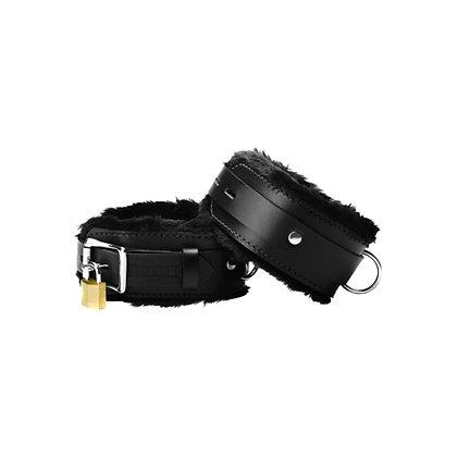 Premium Fesseln, mit Leder verkleidet, von Strict Leather