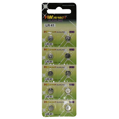 You2Toys - Knopfzellbatterien 10er Blister LR41