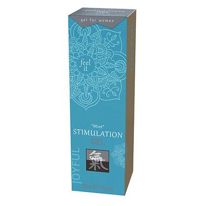 Shiatsu - Stimulation Gel - Minze - 30 ml