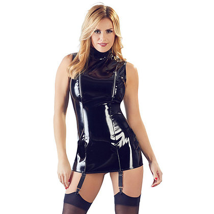 Black Level - Lack-Straps-Minikleid