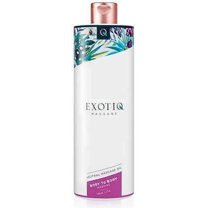 Exotiq - Body To Body erwärmendes Körperöl - 500 ml