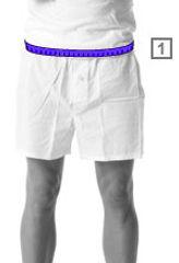 Wie messe ich die richtige Größe?  Wenn du deine Größe messen möchtest, kannst du das am Besten in Unterwäsche tun. So verhinderst du, dass die Kleidungsstücke später zu groß ausfallen. Verwende ein Maßband in Zentimetern (cm) und zieh das Maßband nicht zu fest um dich herum. Die Maße beziehen sich auf die Standardgrößen. Herren Unterwäsche
