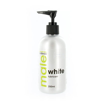 male - White Gleitmittel - 250 ml