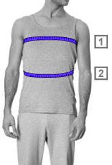 Wie messe ich die richtige Größe?  Wenn du deine Größe messen möchtest, kannst du das am Besten in Unterwäsche tun. So verhinderst du, dass die Kleidungsstücke später zu groß ausfallen. Verwende ein Maßband in Zentimetern (cm) und zieh das Maßband nicht zu fest um dich herum. Die Maße beziehen sich auf die Standardgrößen. Herren