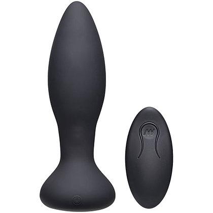 A-Play - Rimmer Experienced vibrierender und rotierender Analplug - Schwarz