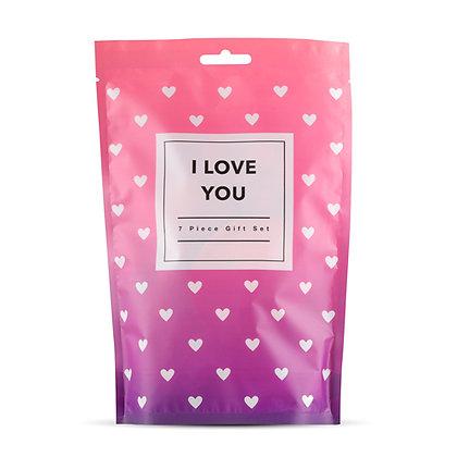 LoveBoxxx - 7-Teiliges Erotik Geschenkbox - Ich liebe dich