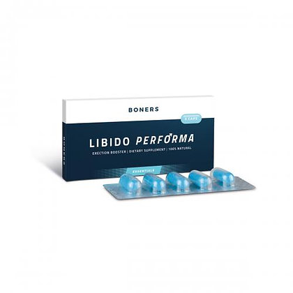 Boners - Libido Performa Erektions Booster - 5 Kapseln