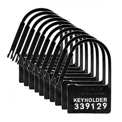 Master Series - Keyholder Nummerierte Plastik-Schlösser - 10 Stück