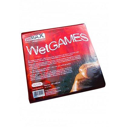 Joydivision - SexMAX WetGAMES Vinylfolie 180 x 220 cm - Rot