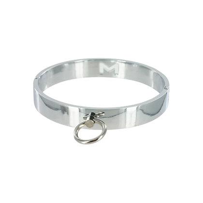 Master Series - Chrome Slave Collar - Medium/Large