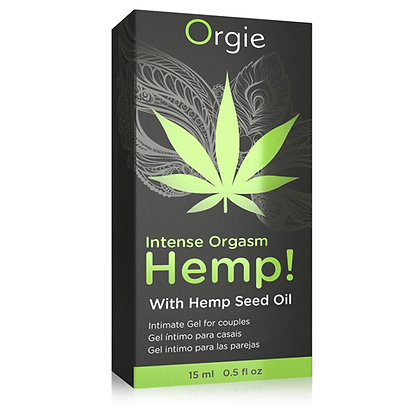 Orgie - Intense Orgasm Hemp Gel - 15 ml