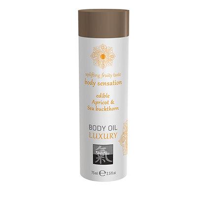 Shiatsu - Luxus-Körperöl - Aprikose und Sanddorn - 75 ml