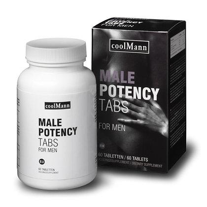 CoolMann - Male Potency Tabs - 60 Stück