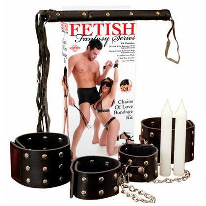 Fetish Fantasy Series - Chains Of Love Bondage Kit
