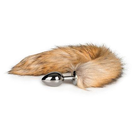 EasyToys - Fuchsschwanz Analplug - 8 cm