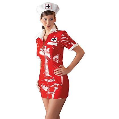 Black Level - Krankenschwester-Kleid - Rot