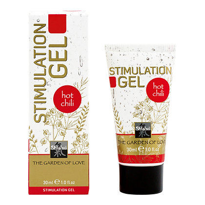 Shiatsu - Stimulation Gel - Hot Chili - 30 ml