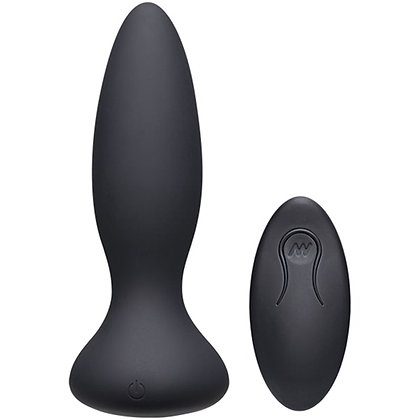 A-Play - Vibe Adventurous vibrierender Analplug - Schwarz