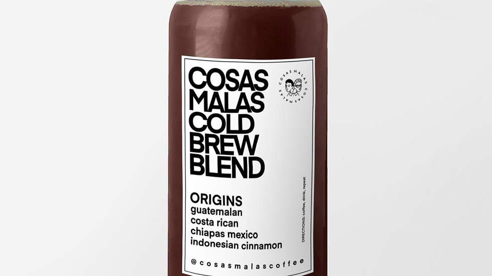 Cosas Malas Cold Brew (1 Gallon)