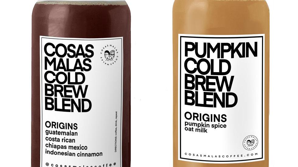 Pumpkin Cold Brew Duo (Half Gallon)