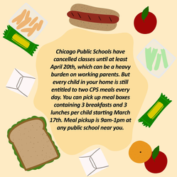 Informational illustration created for Chicago United for Equity. The illustration was part of a set that was translated into various languages and distributed throughout the city of Chicago.