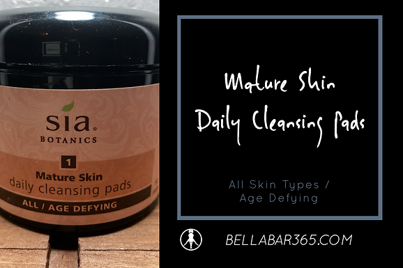 MATURE SKIN DAILY CLEANSING PADS