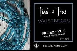 BLUE One-Of-A-Kind Waistbeads