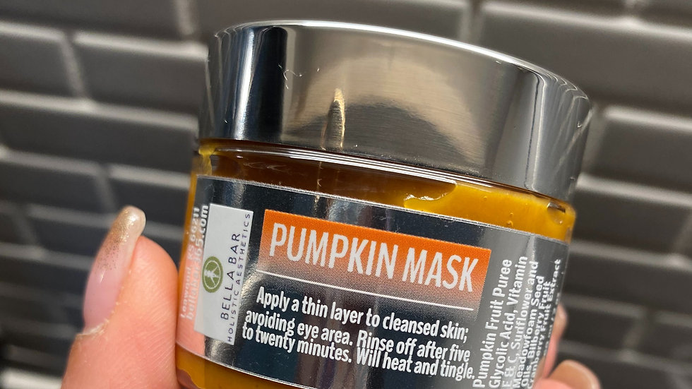 PUMPKIN MASK+BRUSH