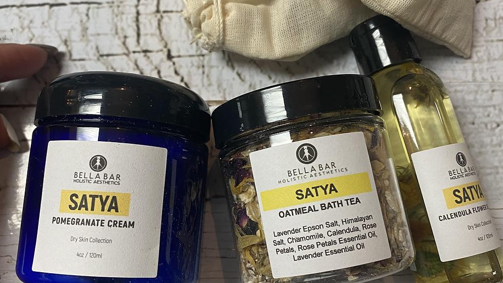 BATH TEA+CREAM+BODY SERUM
