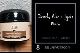 DESERT, ALOE, + JOJOBA MASK