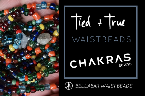 COLORFUL One-Of-A-Kind Waistbeads