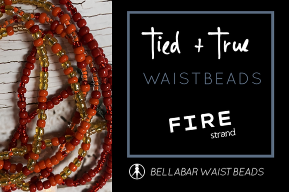 RED One-Of-A-Kind Waistbeads