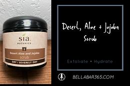 DESERT, ALOE, + JOJOBA SCRUB