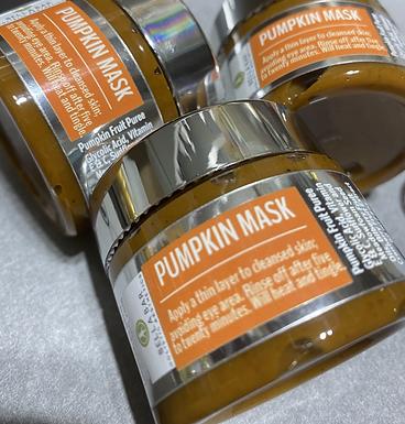 PUMPKIN MASK+BRUSH