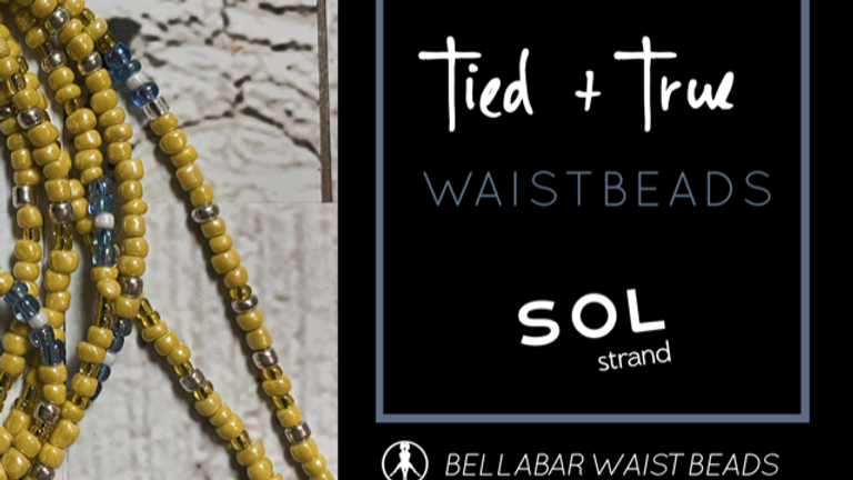 YELLOW One-Of-A-Kind Waistbeads