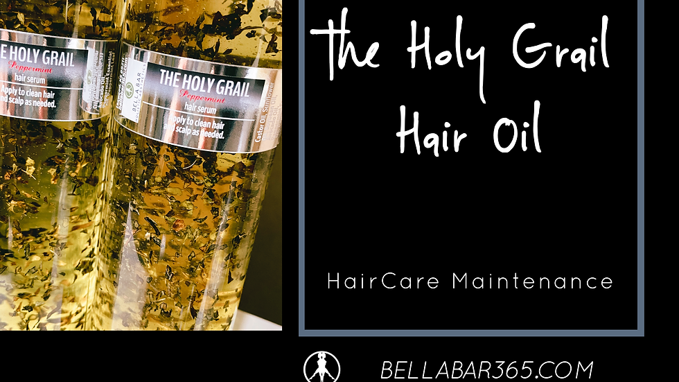 THE HOLY GRAIL HAIR OIL